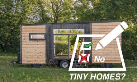 Talking to election candidates about tiny homes